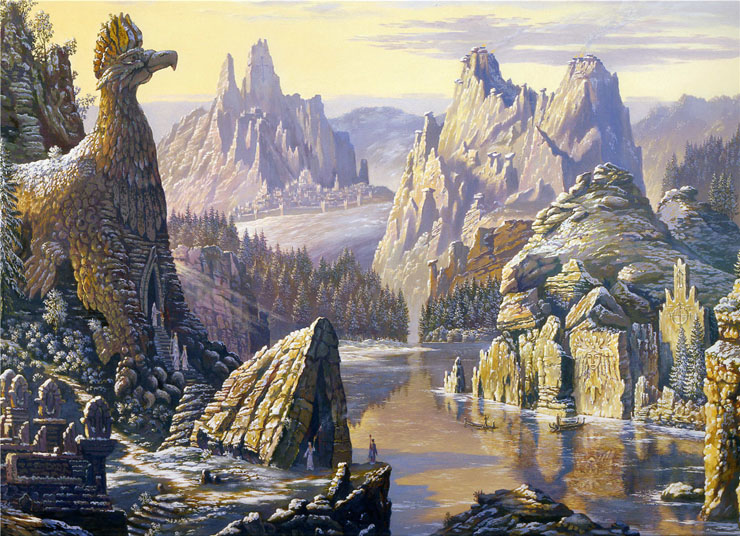 Paintings of Russian prehistoric North 11