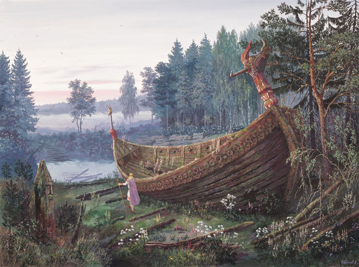 Paintings of Russian prehistoric North 2