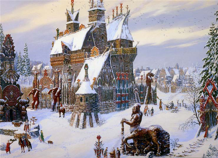 Paintings of Russian prehistoric North 3