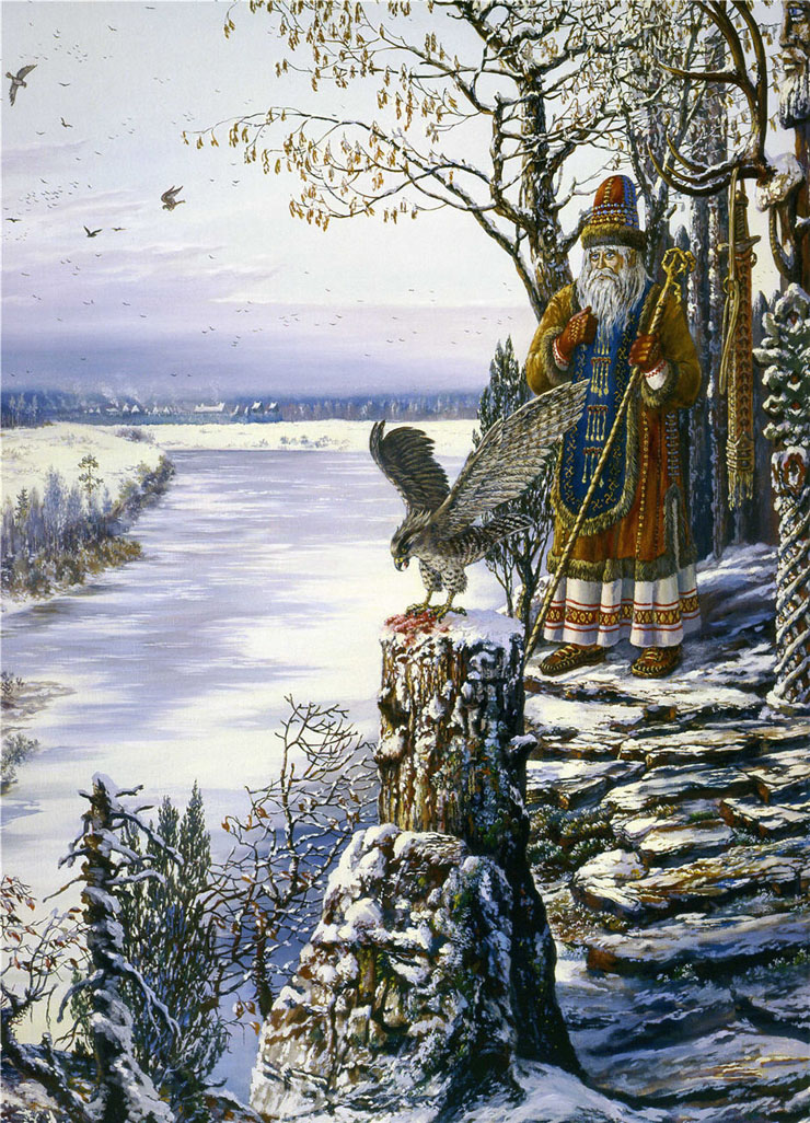 Paintings of Russian prehistoric North 5