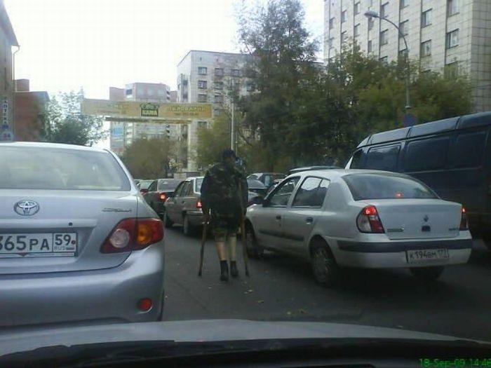 Russian beggars