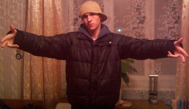 Russian gangsta style
