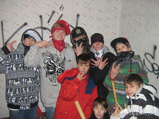 Russian gangsta style 6