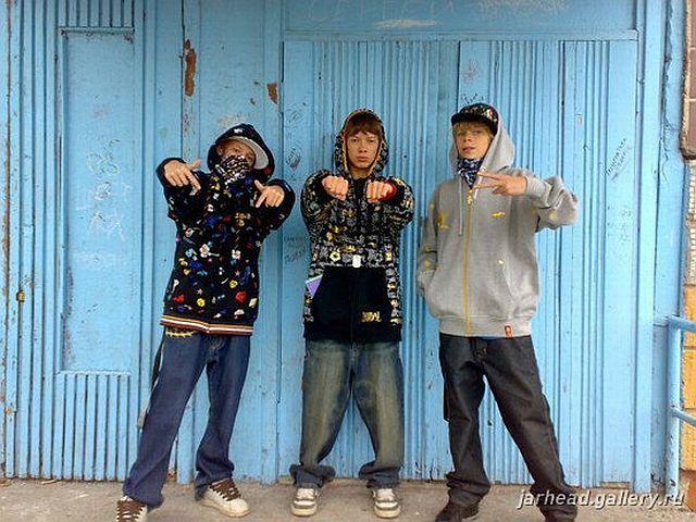 Russian gangsta style 30