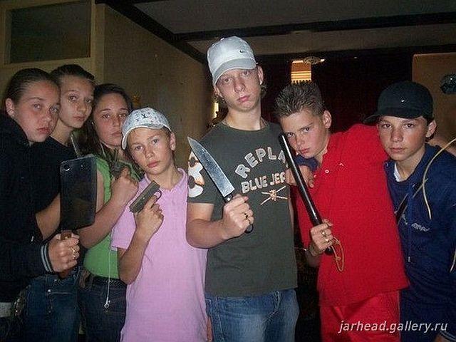 Russian gangsta style 33