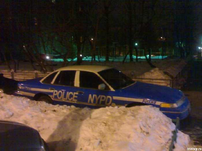 New York Police Department cars in Russia 1