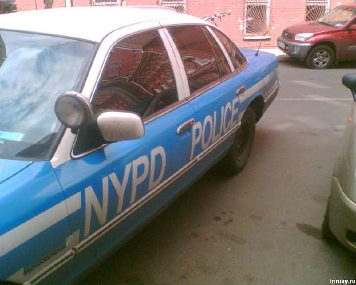 New York Police Department cars in Russia 3