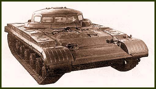 Russian UFO tank 1