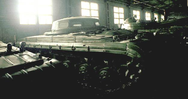 Russian UFO tank 3