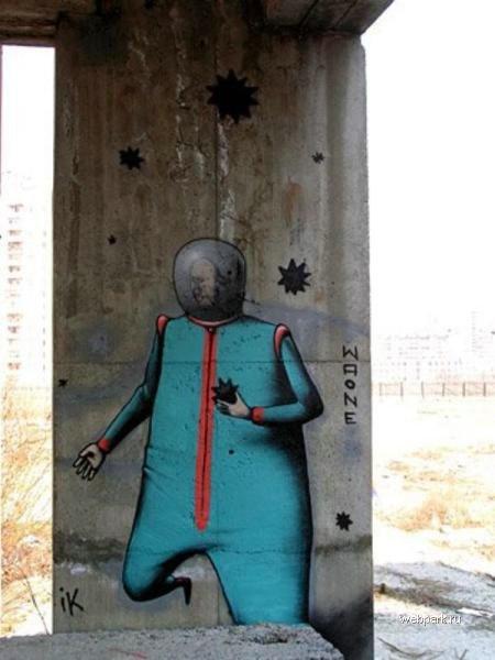 street art in Odessa, Ukraine 11