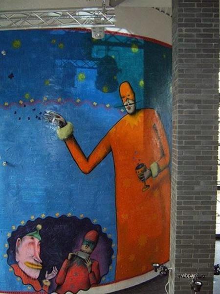 street art in Odessa, Ukraine 14