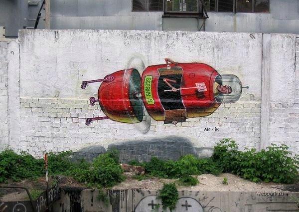 street art in Odessa, Ukraine 15