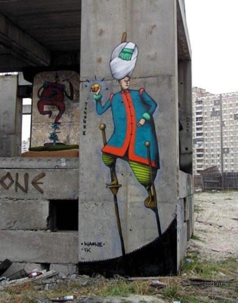 street art in Odessa, Ukraine 6