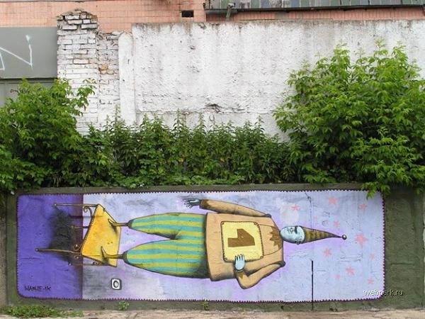 street art in Odessa, Ukraine 8