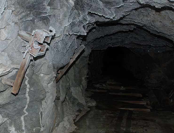 Old Russian mine 5