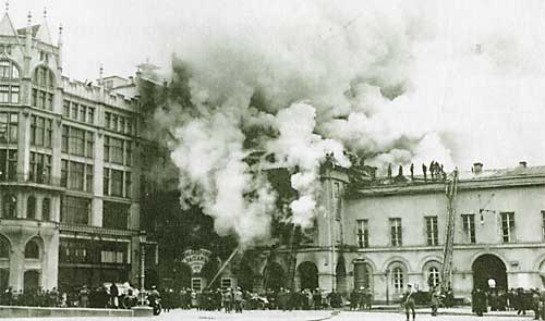 disasters in old Moscow, Russia 1