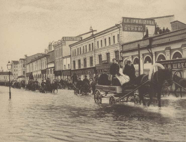 disasters in old Moscow, Russia 10