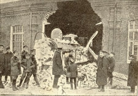 disasters in old Moscow, Russia 2