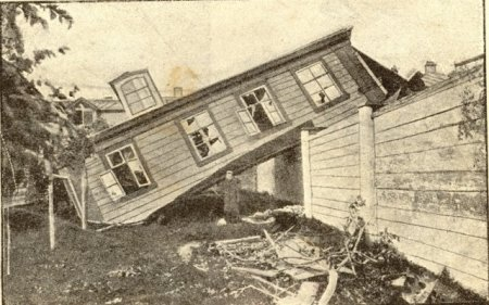 disasters in old Moscow, Russia 5