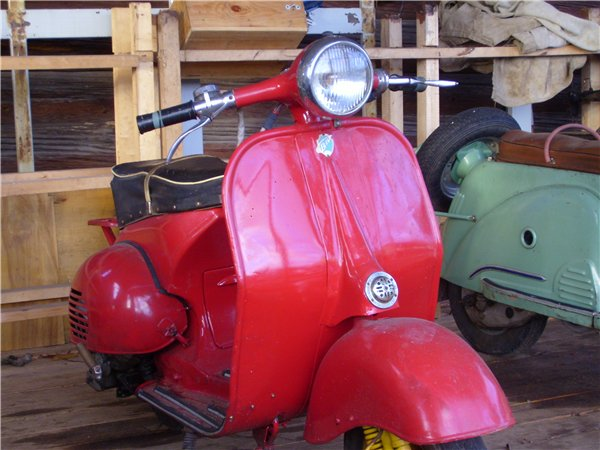 Old Russian Motorbikes