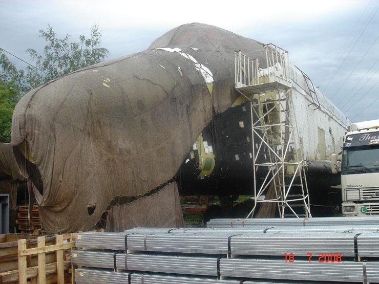 Russian space shuttle 1