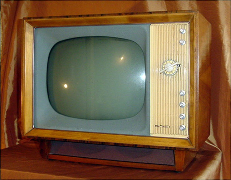 Old Soviet TV Sets 4