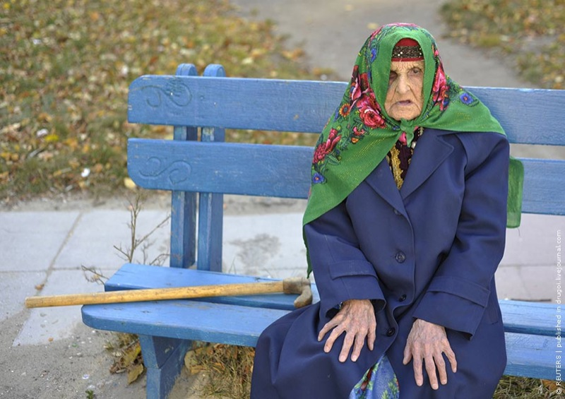 Russian oldest woman