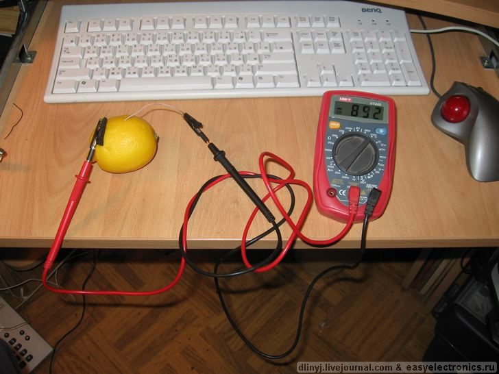 Russians charging ipod with lemons