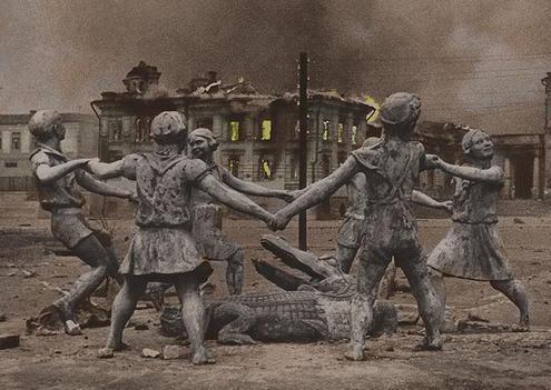 Russian city after war 3