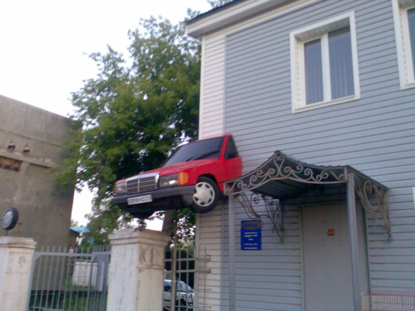 car repair shop in Orenburg, Russia 2
