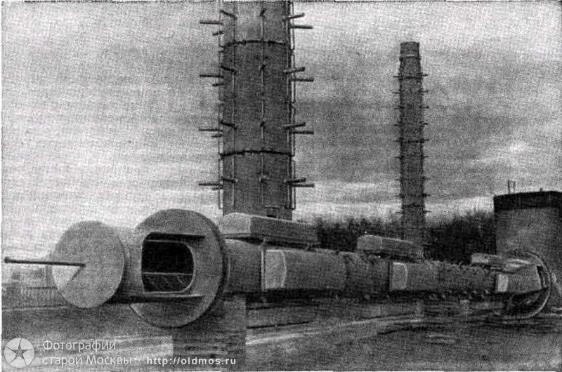 Tallest Russian tower, Ostankino tower is being built 3