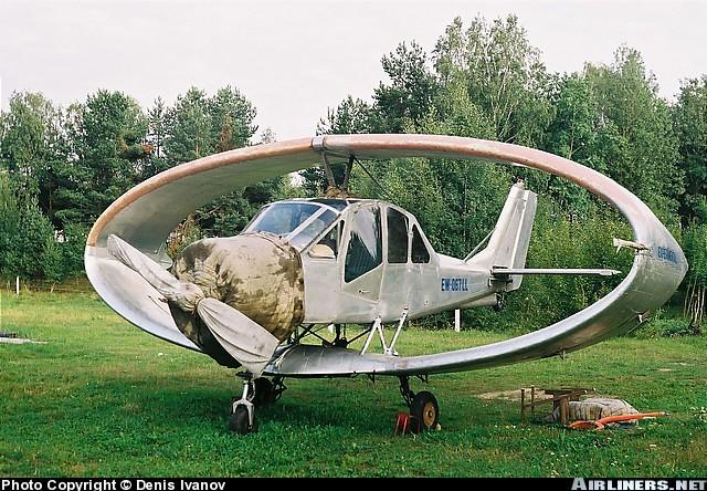 Russian Ellipse Wing Plane 4