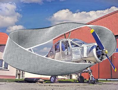 Russian Ellipse Wing Plane 6