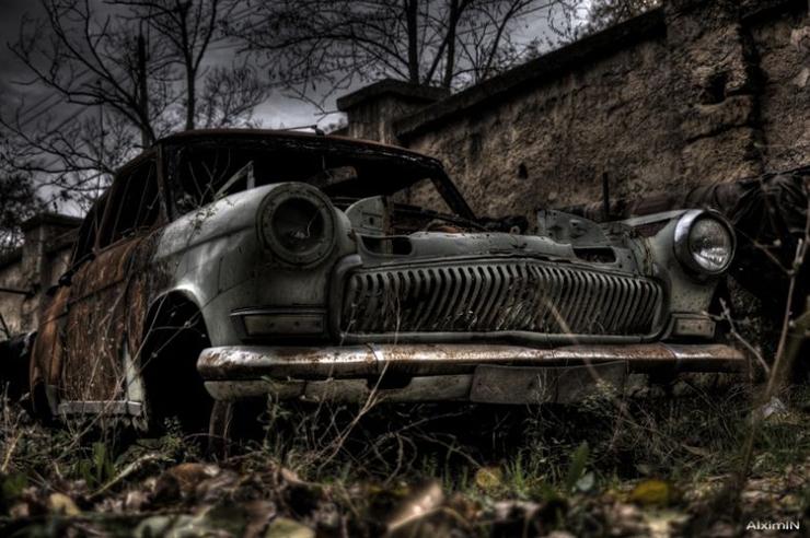 HDR photos of Volga car 5