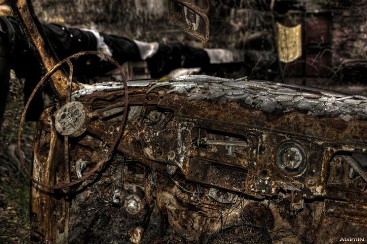 HDR photos of Volga car 7