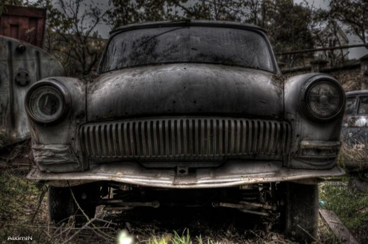 HDR photos of Volga car 9