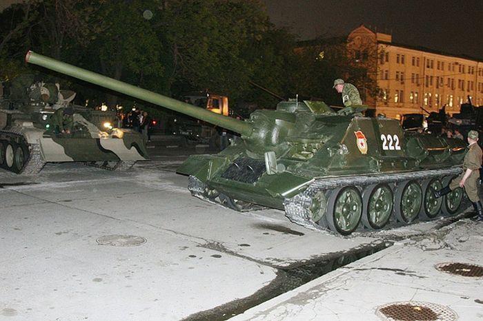 Overturned Tank At The Kremlin Walls 10