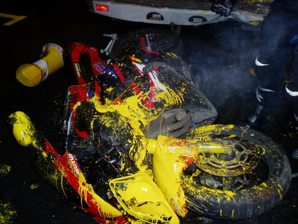 bike accidently painted in Russia 5