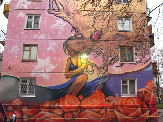 Russian painted houses 3