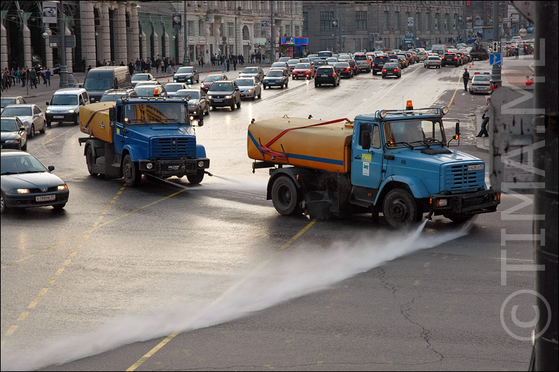 Russian parade in Moscow 1