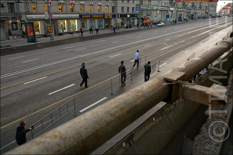 Russian parade in Moscow 2