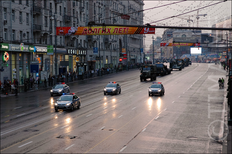Russian parade in Moscow 4