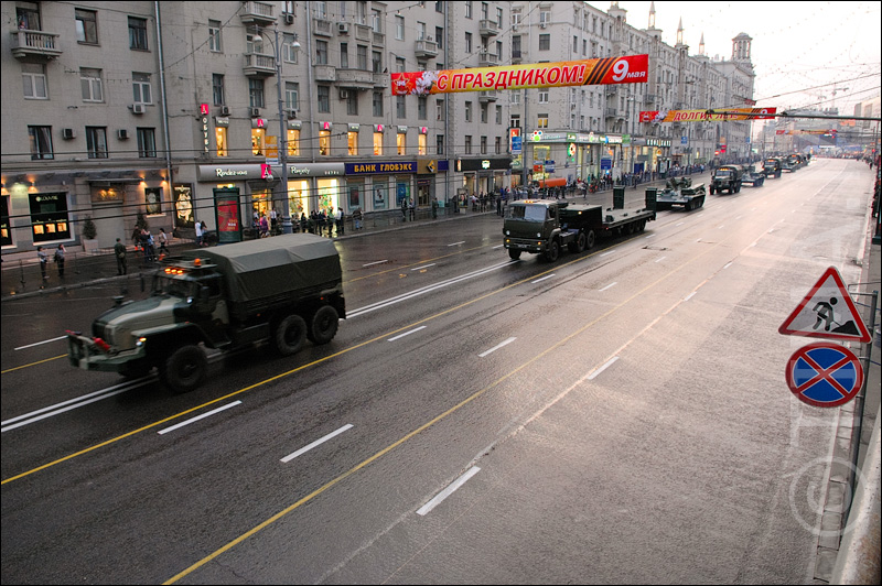 Russian parade in Moscow 8