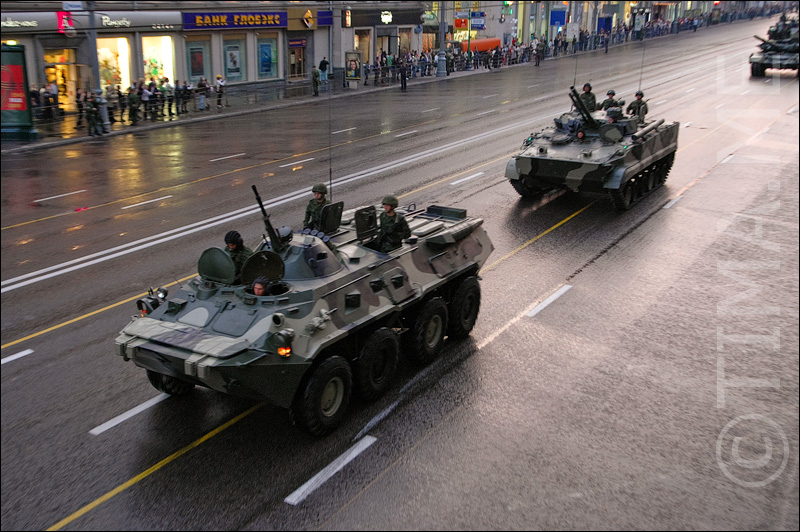 Russian parade in Moscow 12