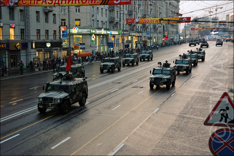 Russian parade in Moscow 25