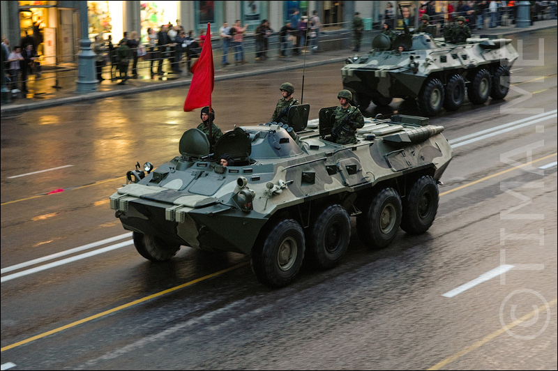 Russian parade in Moscow 26