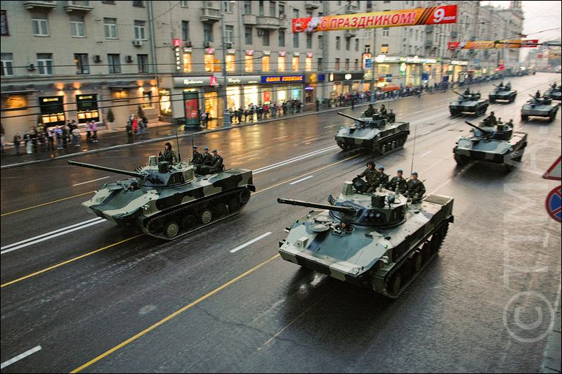 Russian parade in Moscow 34