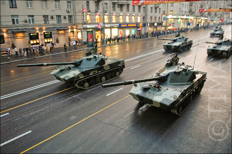 Russian parade in Moscow 36