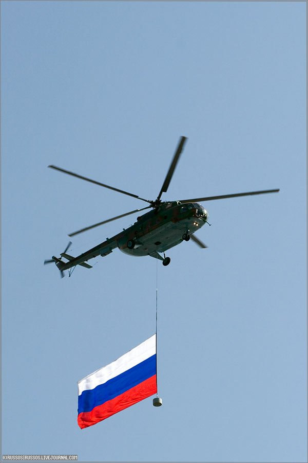 the Russian army parade in Moscow 7