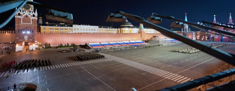 Parade Rehearsal In Moscow 1